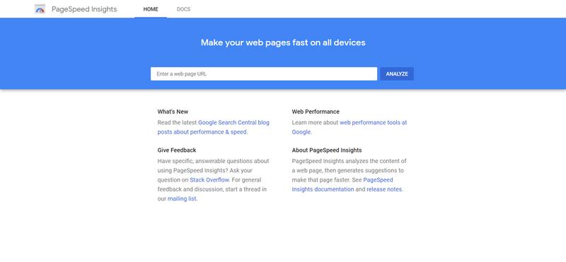 تست سرعت سایت با Google PageSpeed Insight
