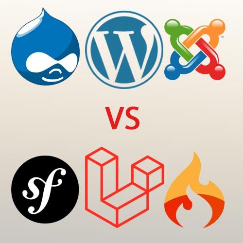 ویژگی های طراحی سایت با PHP نسبت به CMS